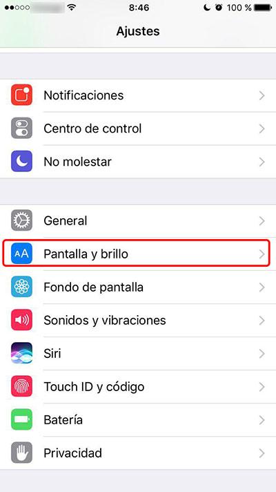 Πώς να aumentar el μέγεθος de los iconos de tu iPhone - Εικόνα 1 - Professor-falken.com