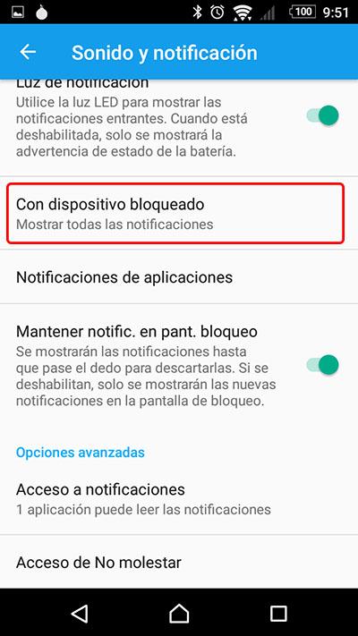 कैसे से बचने कि सूचनाएं अपने Android के लॉक की स् क्रीन में प्रदर्शित होते हैं - छवि 2 - प्रोफेसर-falken.com