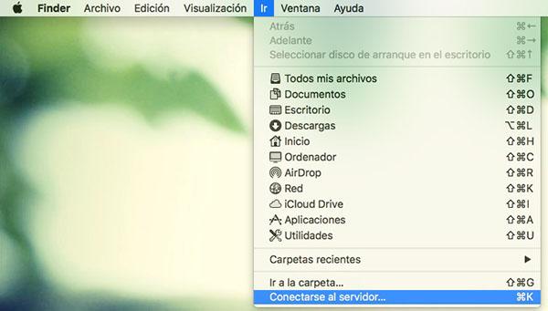 Wie erstelle ich eine FTP-Verbindung aus der Finder unter Mac OS - Bild 1 - Prof.-falken.com
