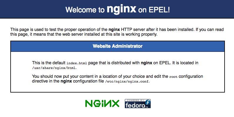 CentOS に nginx をインストールする方法 6.8 - イメージ 1 - 教授-falken.com