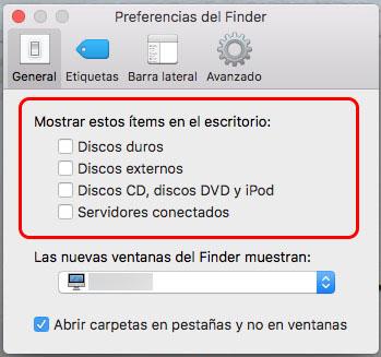 Como exibir os ícones das unidades de disco no desktop do seu Mac. - Imagem 2 - Professor-falken.com