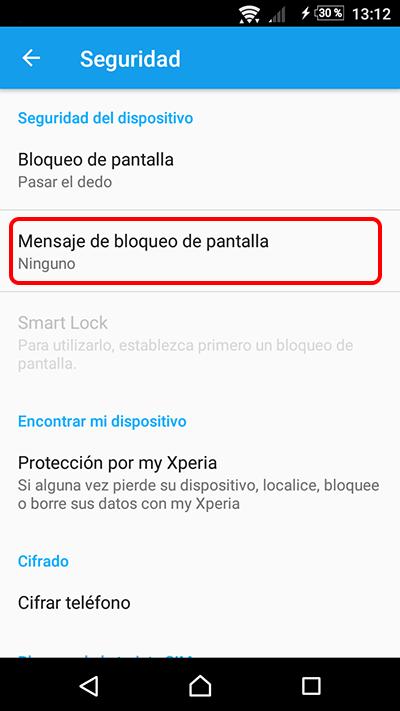 Cómo poner un mensaje informativo en la pantalla de bloqueo de tu Android - Image 2 - professor-falken.com