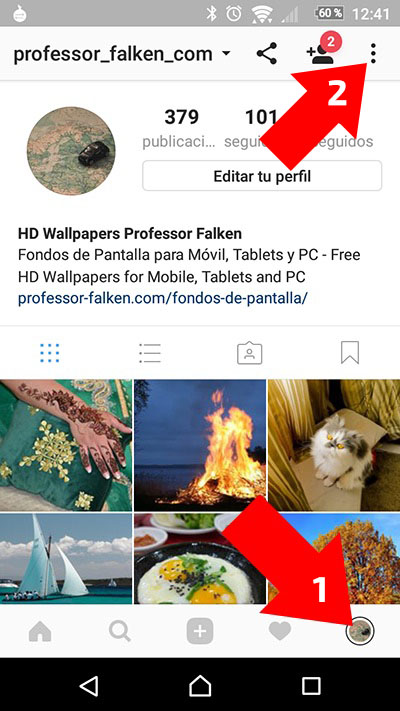 Cómo usar múltiples cuentas de Instagram en tu teléfono móvil - Image 1 - professor-falken.com
