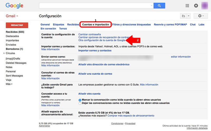 Comment fermer, à distance, Séances de Gmail ouvert sur vos appareils - Image 5 - Professor-falken.com