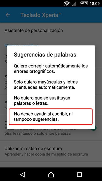 Cómo desactivar, o activar, el texto predictivo y autocorrector en tu Android - Image 4 - professor-falken.com