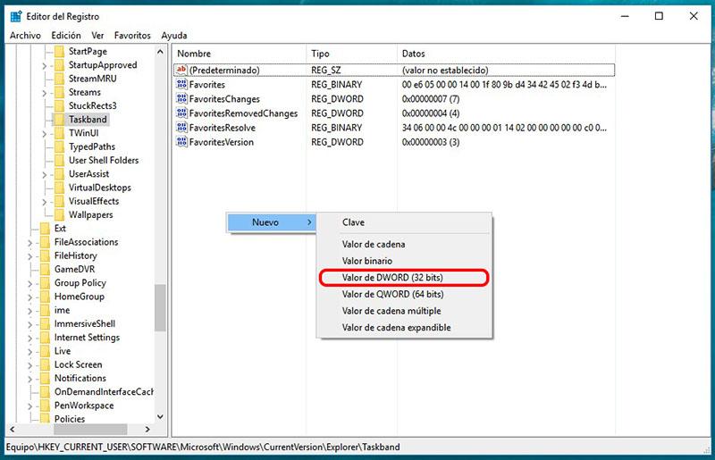 बार देखे गए Windows के कार्यपट्टी में थंबनेल का आकार परिवर्तित करने के लिए कैसे - छवि 5 - प्रोफेसर-falken.com
