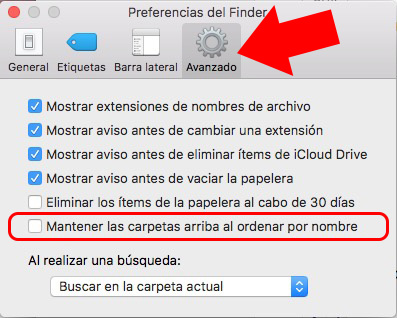 Πώς μπορείτε να εμφανίσετε τους φακέλους πρώτα, Κατά την ταξινόμηση κατά όνομα, σε ένα παράθυρο του Finder για το Mac σας - Εικόνα 2 - Professor-falken.com