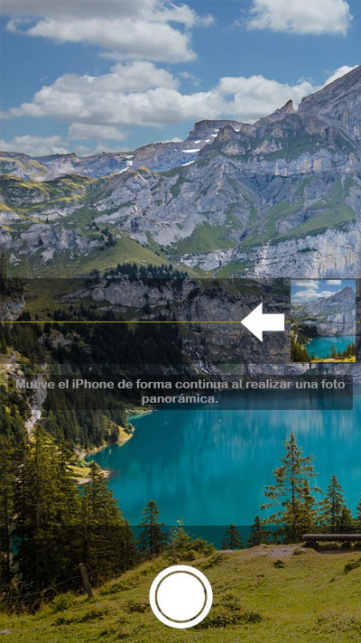 Cómo cambiar el sentido de toma en las fotos panorámicas en tu iPhone - Image 2 - professor-falken.com