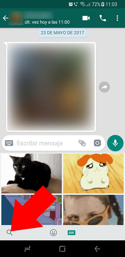 Come inviare gif animate su WhatsApp su Android - Immagine 3 - Professor-falken.com
