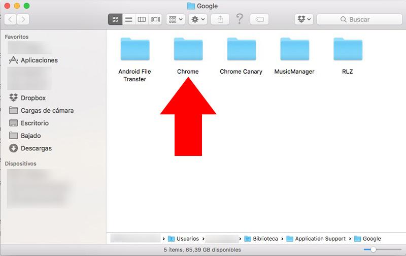 Cómo eliminar todos los datos de usuario de Chrome en tu Mac - Image 2 - professor-falken.com