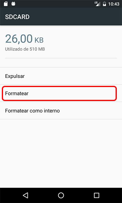 अपने मोबाइल को स्वरूपित या गोली Android एसडी कार्ड के लिए कैसे - छवि 4 - प्रोफेसर-falken.com