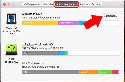 Wie Sie wissen, welche Anwendungen belegen mehr Speicherplatz auf Ihrem Mac - Bild 2 - Prof.-falken.com