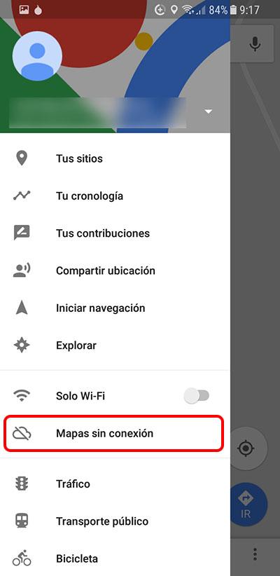 Cómo descargar los Mapas sin conexión de Google Maps en tu Android - Image 2 - professor-falken.com
