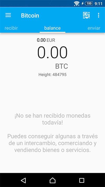 Comment créer un portefeuille de Bitcoin sur votre téléphone mobile Android - Image 6 - Professor-falken.com