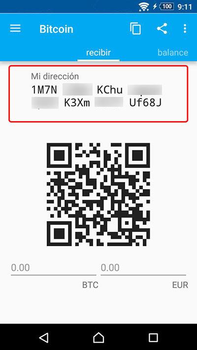 Comment créer un portefeuille de Bitcoin sur votre téléphone mobile Android - Image 7 - Professor-falken.com