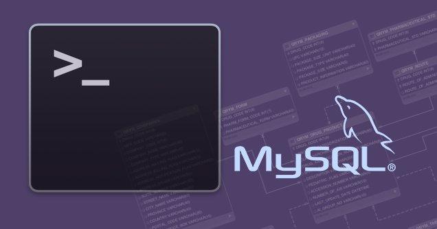如何从命令行导出仅一个 MySQL 数据库的结构 - 教授-falken.com