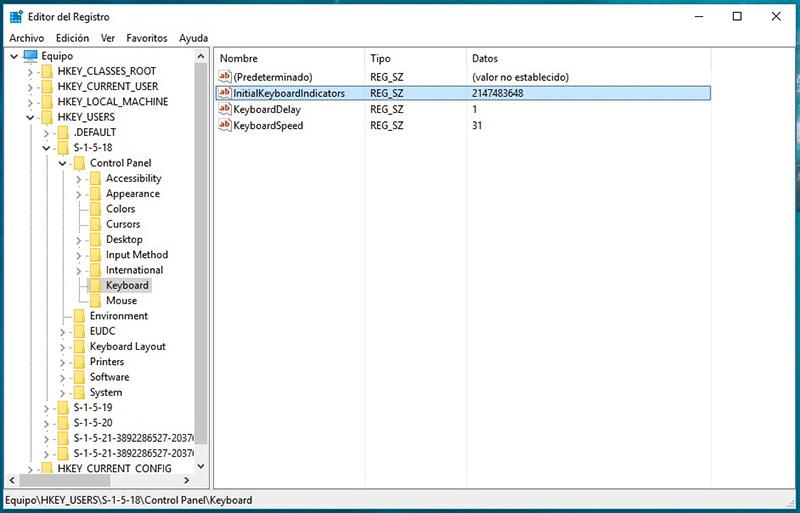Como ativar a tecla NUM LOCK (Num Lock) automaticamente quando você iniciar seu PC - Imagem 5 - Professor-falken.com