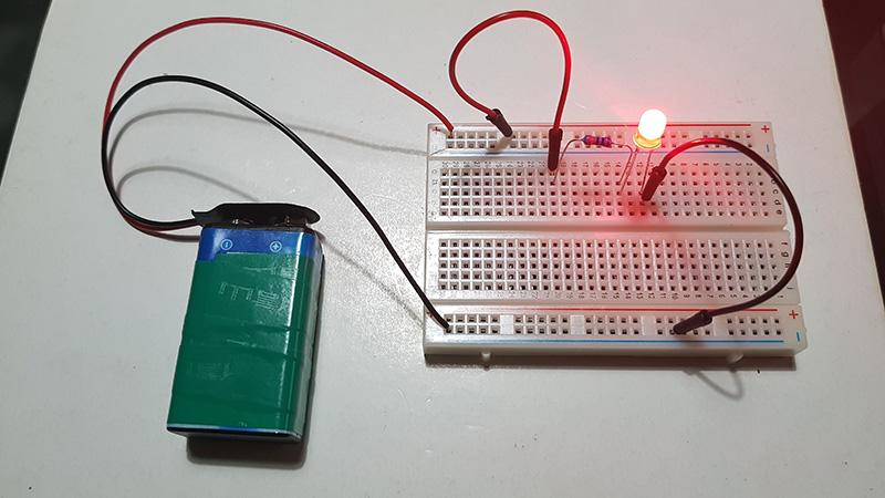 Gewusst wie: eine LED-Schaltung montieren - Bild 4 - Prof.-falken.com
