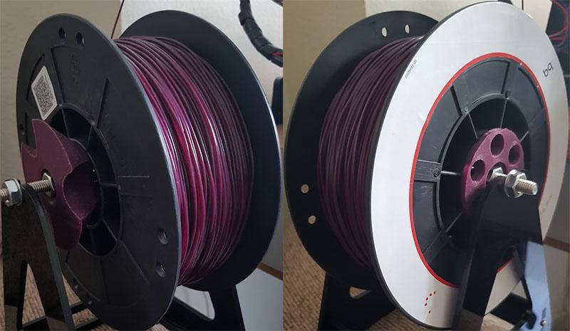 Portacarretes, o adaptador para los carretes, de filamento - Image 2 - professor-falken.com